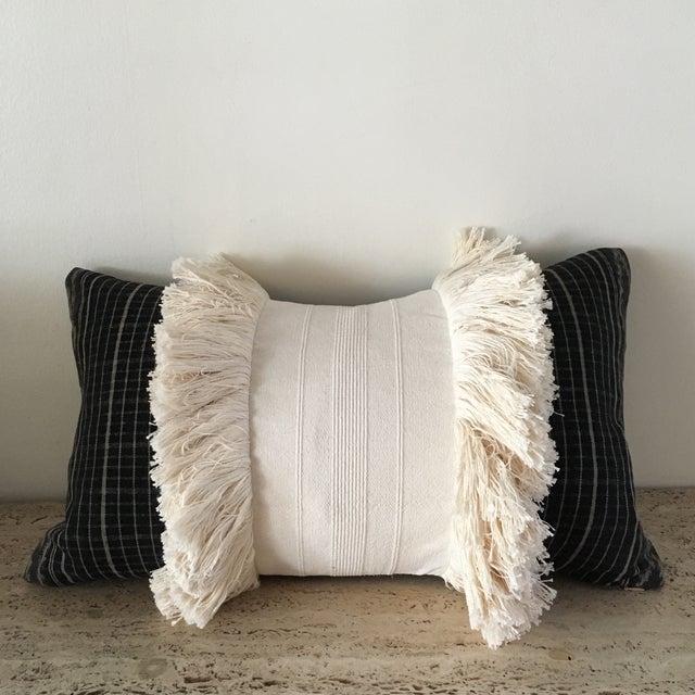 Vintage Sumba Ikat Fringe Pillow - Image 9 of 9