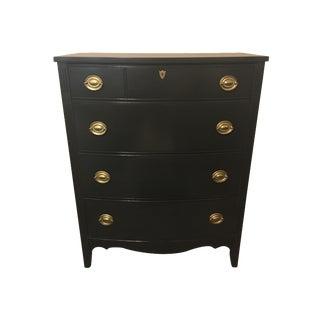 Black Refinished Dixie Dresser