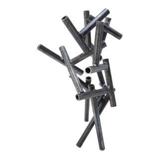 Metal Pipe Sculpture