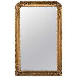 Antique French Napoleon III Gilded Mirror