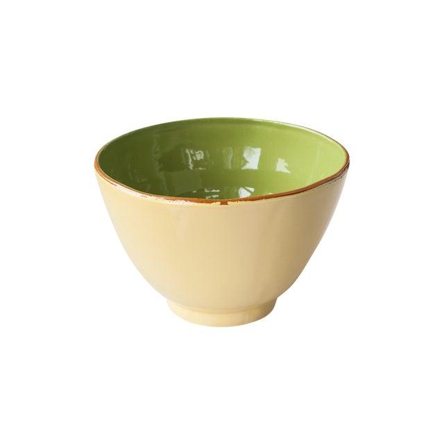 Vietri Earthenware G/Y Round Serving Dish - Image 1 of 3