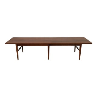Vintage Walnut Coffee Table