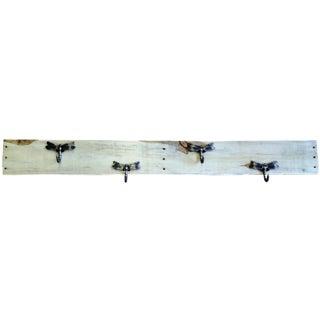 Super Wide Natural Pallet Firefly Coat Rack