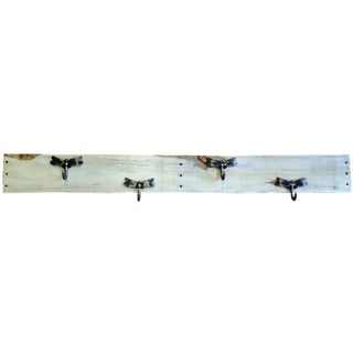 Super Wide Natural Pallet Firefly Coat Rack