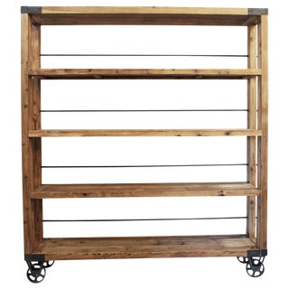 Industrial Castor Shelf