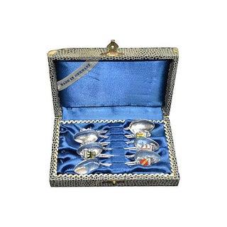 German Silverplate Spoons - Set of 6