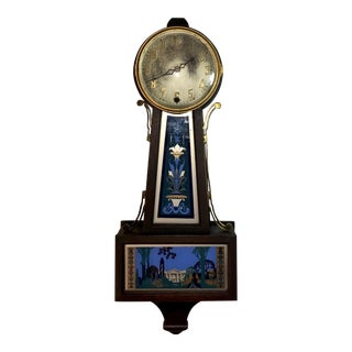 Antique Art Nouveau Wall Clock for Display