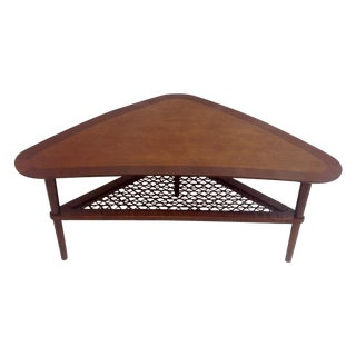 Danish Modern Boomerang Coffee Table