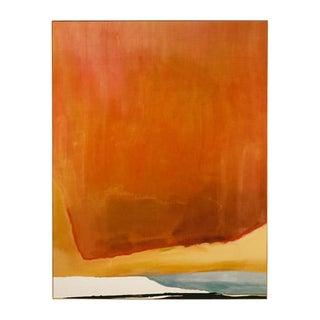 Frankenthaler Sunset Corner Framed Print