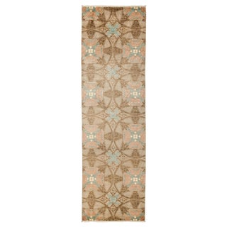 """Suzani Style Hand Knotted Runner - 3'3"""" X 10'5"""""""