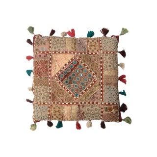 Luna Vintage Textile Pillow