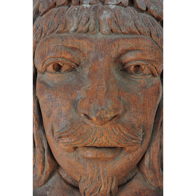 Terracotta Knights Heads - Set of 6 Corbels - Image 6 of 8