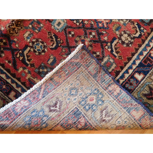 Old Persian Hamadan Rug - 3′7″ × 5′ - Image 6 of 7