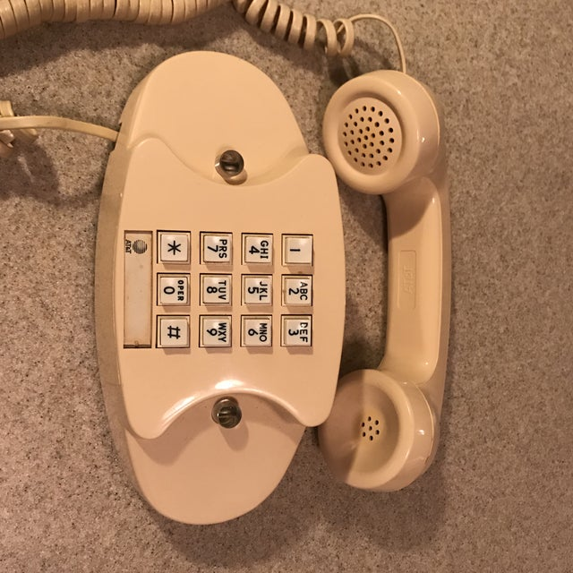 Ivory Western Electric Princess Push Button Phone - Image 4 of 11