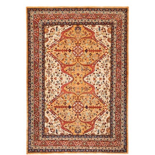 "Traditional Hand-Knotted Rug- 5' 9"" x 7' 10"""