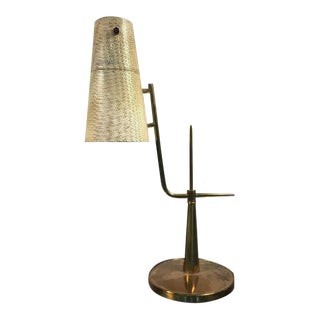 Paavo Tynell Style Circa 1960 Articulating Desk Lamp