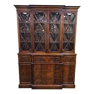 Saginaw Furniture Mahogany China Cabinet