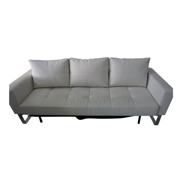 innovation living cassius q deluxe sleeper sofa chairish. Black Bedroom Furniture Sets. Home Design Ideas