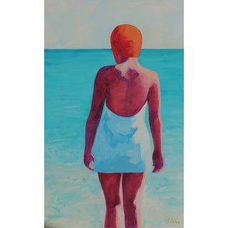 Woman at the Beach Original Painting