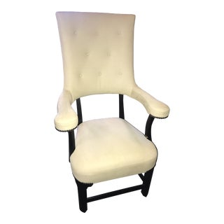"Truex American Furniture ""George Chair"" Velours Suede"