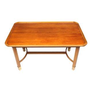 Swedish Walnut Coffee Table