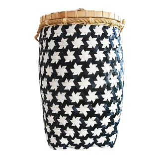 Anthropologie Starry Night Laundry Basket