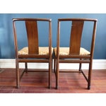 Image of Asian Inspired Dining Chairs - A Pair