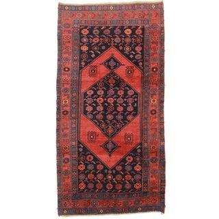 "Antique Persian Bidjar Wool Rug - 4'5"" x 8'7"""