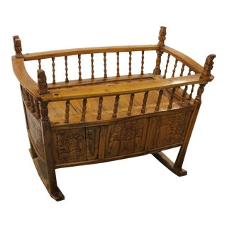 Antique Chinese Baby Cradle