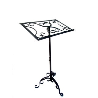 Antique Wrought Iron Sheet Music Stand
