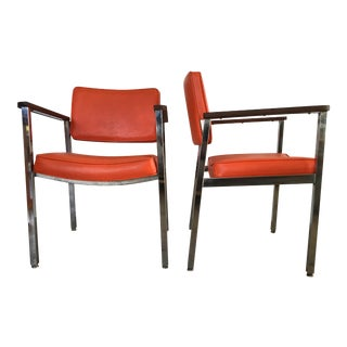 1960s Vintage Haskell Mid-Century Modern Office Chairs- A Pair