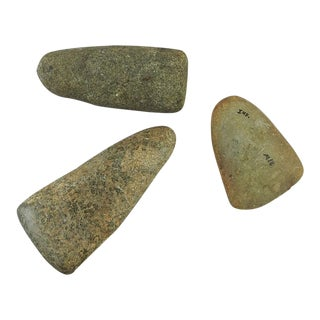 Celts Pestle Stone Artifacts - Set of 3