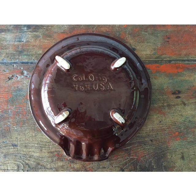 California Originals Brown Ashtray Catchall - Image 7 of 7