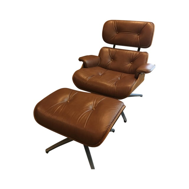 1960 Segal Reproduction of Eames Lounge Chair - Image 1 of 11