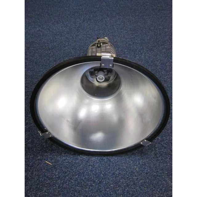 Image of Five Large French Mid-Century Industrial Lights
