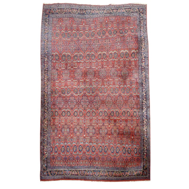 Over-Sized Bidjar Carpet - Image 1 of 1
