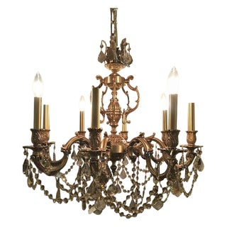French Swarovski Crystal Chandelier