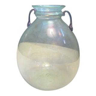Blown Glass Vase, attributed to Vittorio Zecchin for MVM Cappellin
