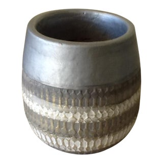 Contemporary Handmade Pottery Plant Vessel
