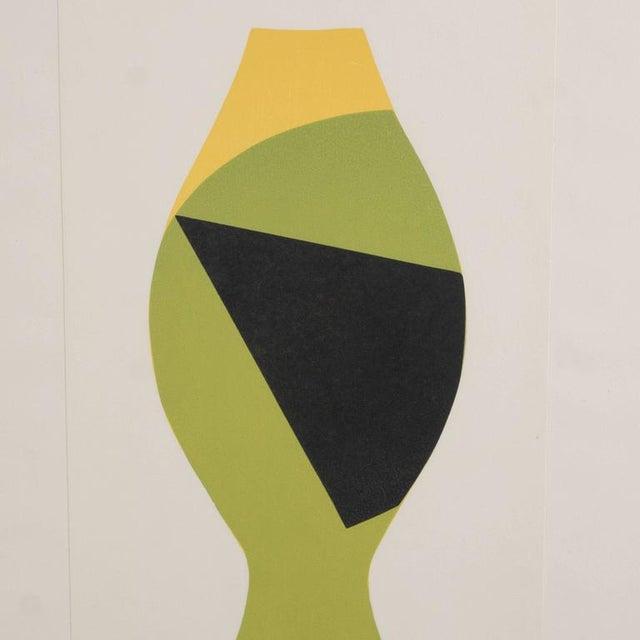 Mid-Century Modernist Woodcut by Hans Arp Poupee Sans Tete, 1964 - Image 2 of 8