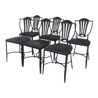 HD Buttercup Iron Dining Chairs - Set of 6