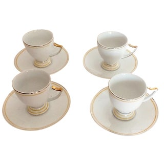 Vintage Demitasse Porcelain - Set of 4