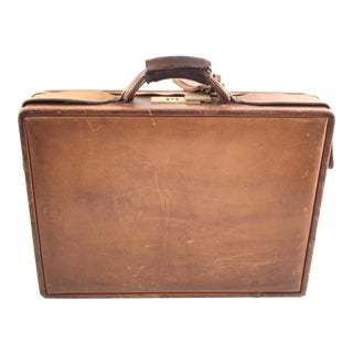 Hartmann Luggage Co. Vintage Leather Briefcase