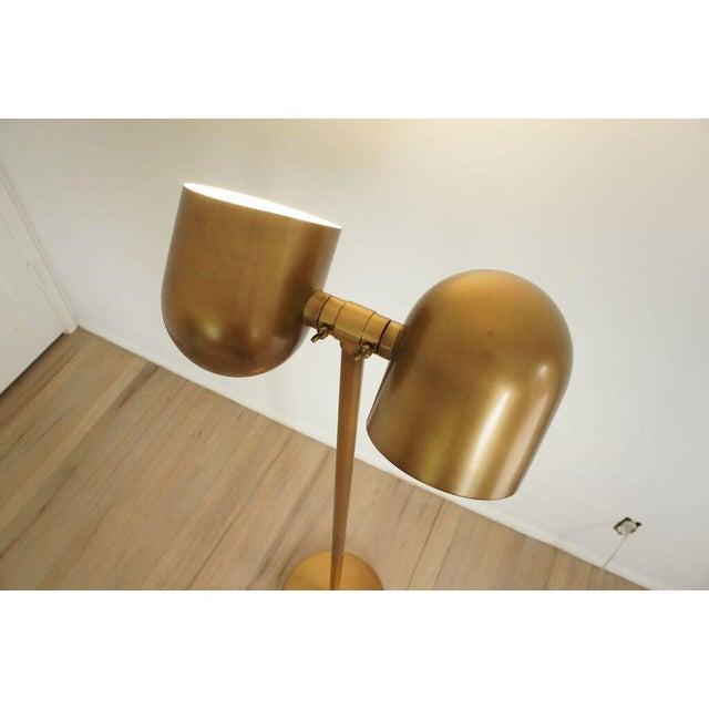 Brass Floor Lamp - Image 6 of 8