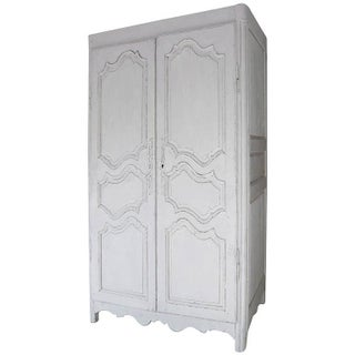 Distressed French Armoire