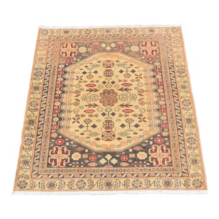 Vintage Handmade Turkish Almond Rug - 2′9″ × 3′1″