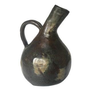 Rustic Pottery Jug - Makers Mark
