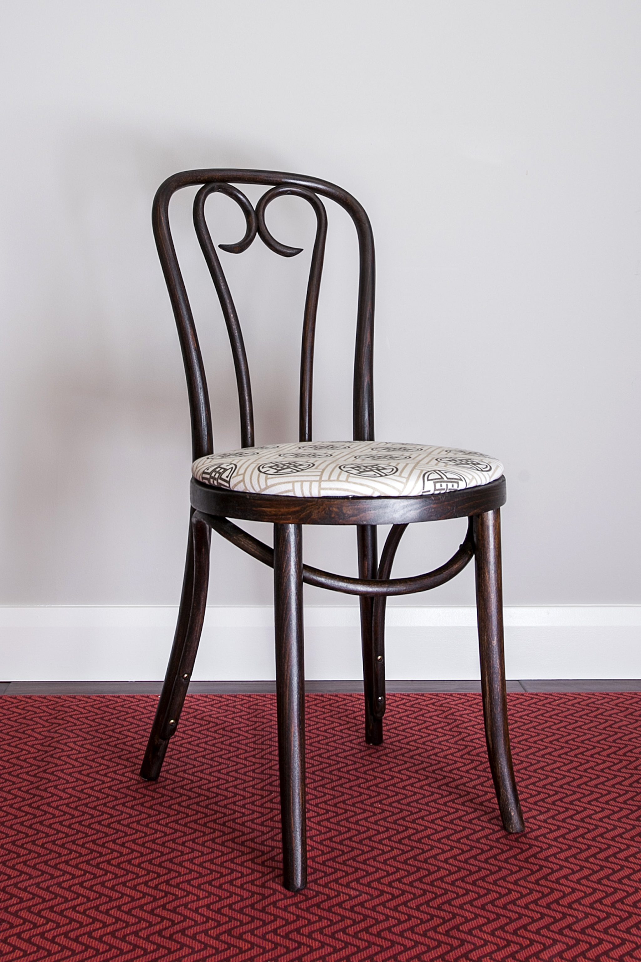 Early 20th Century Candy Cane Bentwood Cafe Chair   Image 2 Of 5