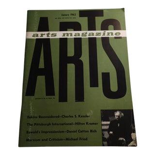 Arts Magazine January 1962