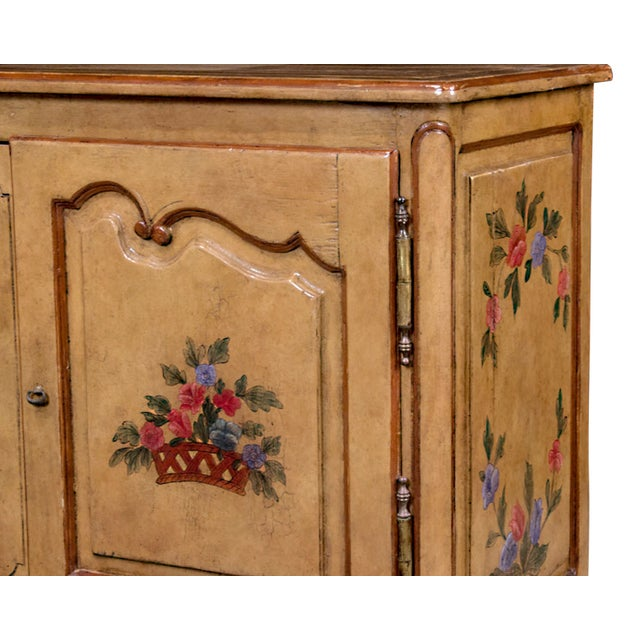 French Provencial Hand Painted Buffet - Image 3 of 5